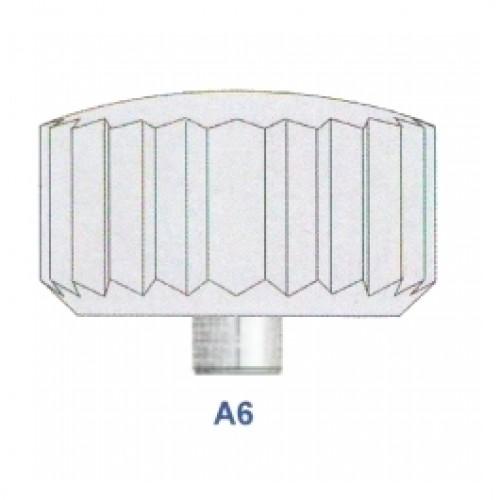 """Corona impermeabile inox diametro tubetto 1,60 forma """"A6"""" ref. 71.16"""
