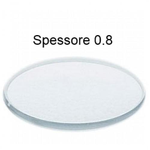 Vetro minerale piatto spessore 0,8 mm