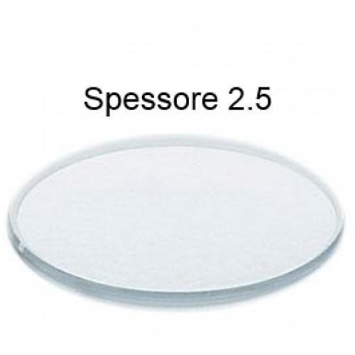 Vetro minerale piatto spessore 2,5 mm