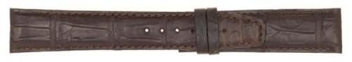 Cinturino in alligatore opaco tranciato imbottito anche per Portoghese - Iwc